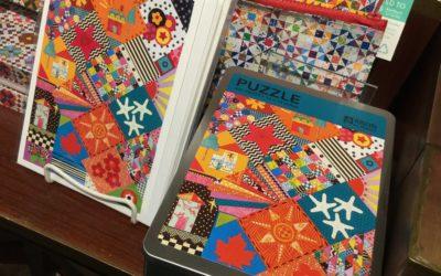 Quilt Card & Puzzle Process